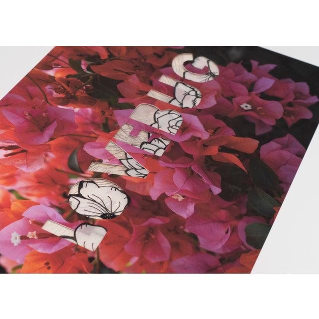 Lovebug (Mehretu) by Emily Hoerdemann, One Word Poems Collage Series For Sale - Image 4 of 4