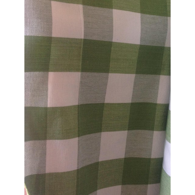 Ralph Lauren Green Bedford Gingham - 5 Yards - Image 2 of 4