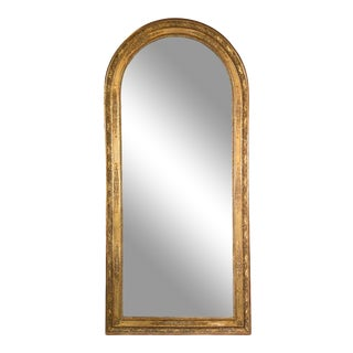 French Empire Giltwood Mirror, Large Scale For Sale