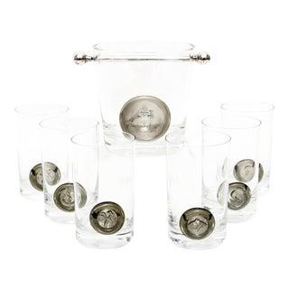 Rosenthal Studio Line Pirate Barware Set - 7 Pieces