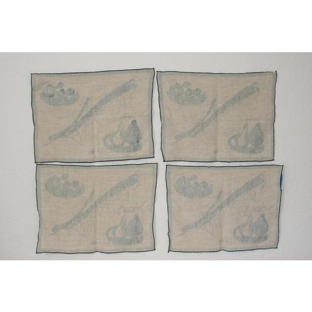 Vera Neumann Linen Placemats - Set of 4 - Image 7 of 7