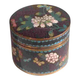 Late 19th C. Chinese Cloisonné For Sale
