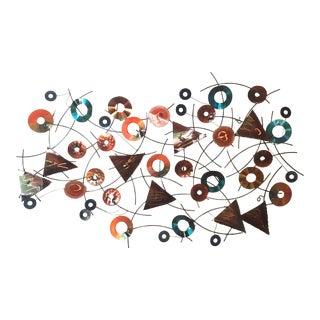 """Curtis Jere """"Kaleidoscope"""" Wall Sculpture"""