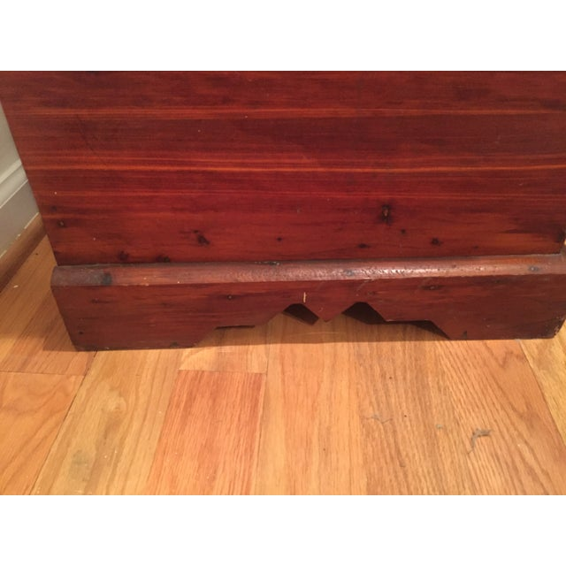 Wooden Trunk - Image 6 of 6