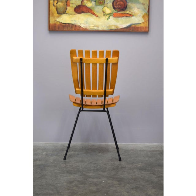 Arthur Umanoff Raymor Mid-Century Slat Chairs, Set/4 For Sale - Image 5 of 9