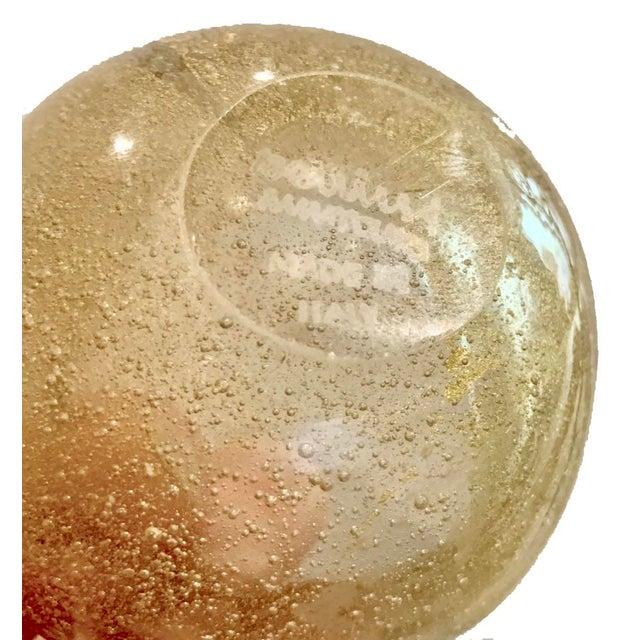 Carlo Scarpa for Venini Murano Italia, Hand Blown Sommerso Glass Vase For Sale In New York - Image 6 of 7