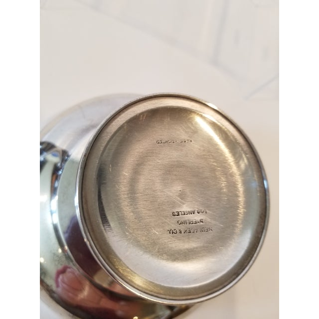 Silver Silver Golf Trophy For Sale - Image 8 of 9