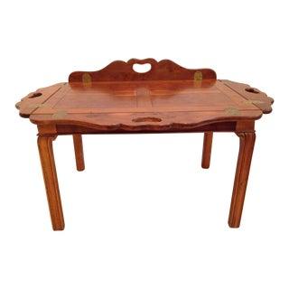Baker Traditional Butler Birdseye Maple Coffee Table