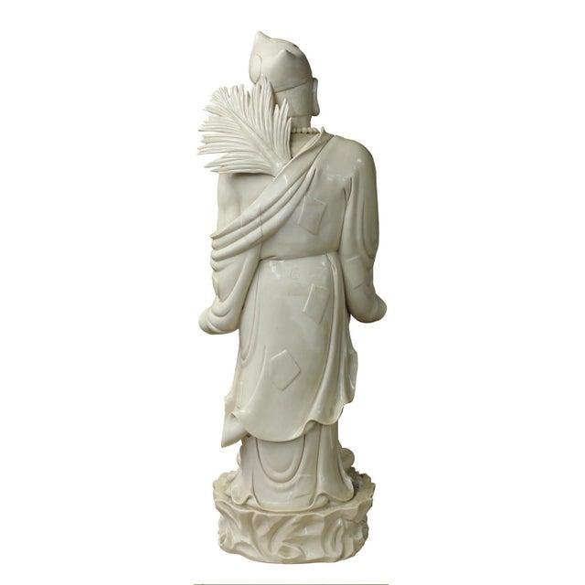 Chinese Porcelain Chan Master Daoji Buddha Beggar Figure For Sale In San Francisco - Image 6 of 6