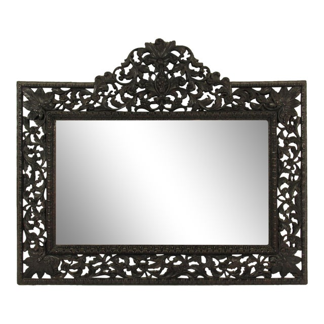 19th Century Rococo Style Mirror For Sale