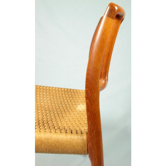 Niels Moller Danish Modern Model No. 83 Teak Dining Chairs - Set of 4 For Sale In New York - Image 6 of 9
