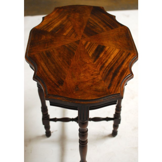Mahogany Occasional Table - Image 6 of 6