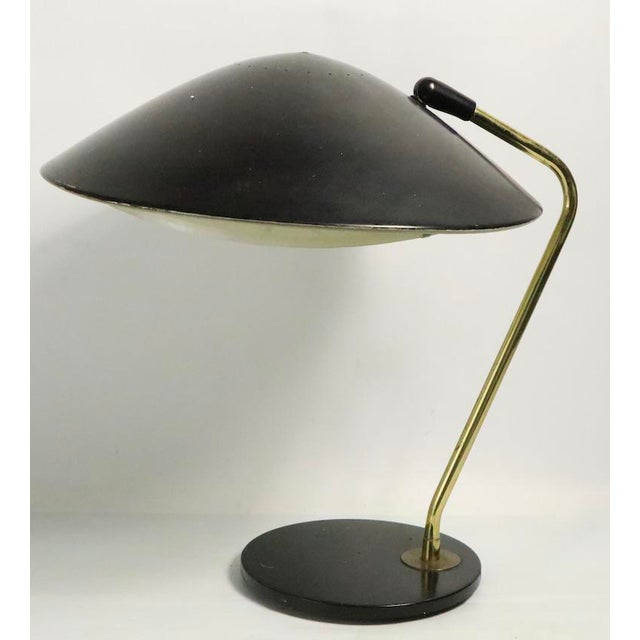 Mid Century Disk Lamp by Thurston for Lightolier For Sale In New York - Image 6 of 10