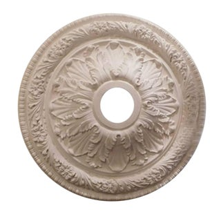 """Floral Trellis"" Plaster Ceiling Medallions For Sale"