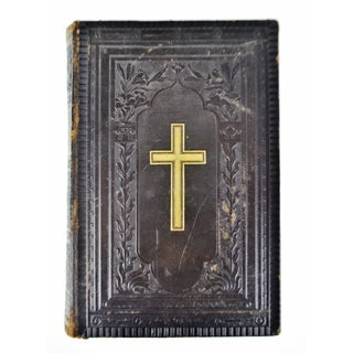 Antique Victorian Leather Bound German Bible Preview