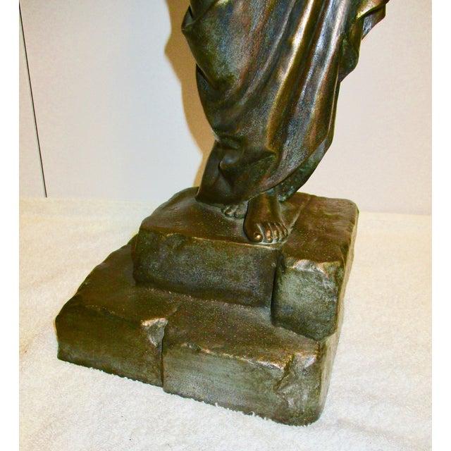 Art Nouveau Emmanuel Villanis French Chained Slave Sculpture For Sale - Image 3 of 7