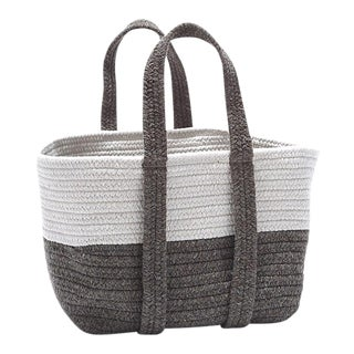 Farmhouse Square Basket 16x14x16 Lavender