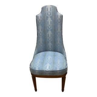 Mid-Century High Back Chair