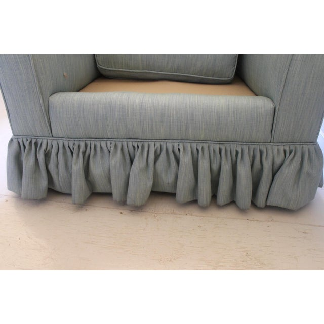 Modern Oversized Upholstered Club Chair For Sale In New Orleans - Image 6 of 10