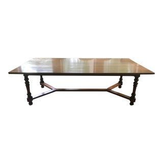 American Joseph Beam Walnut Farmhouse Breakfast Table For Sale