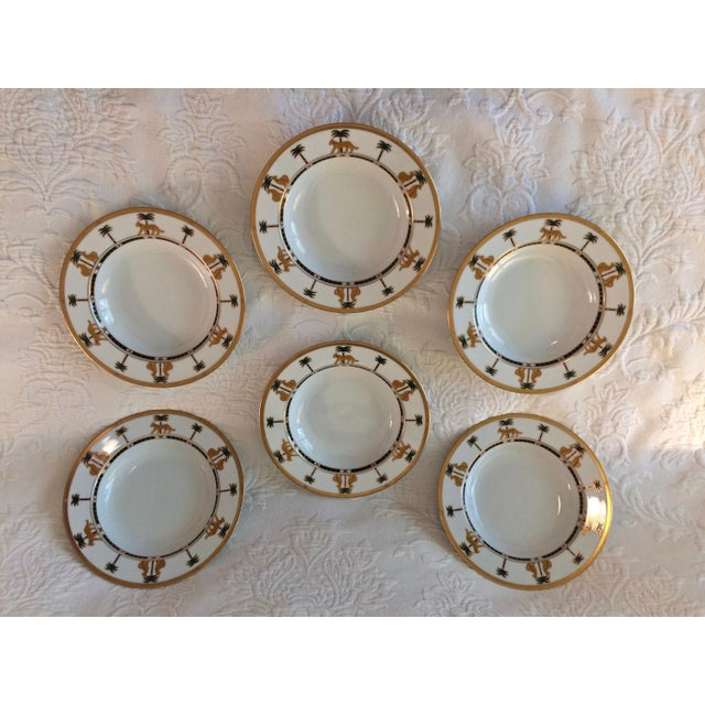 "Christian Dior Hollywood Glamour ""Casablanca"" Fine China Bowls - Set of 6 - Image 2 of 10"