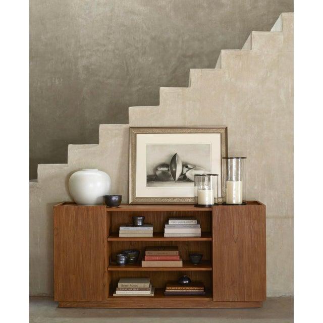 Mid-Century Modern Mid-Century Modern Ralph Lauren Home Sonora Canyon Teak Sideboard For Sale - Image 3 of 10
