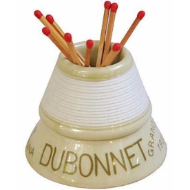Vintage French Dubonnet Match Striker Holder For Sale
