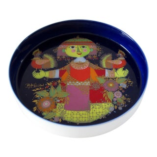 "Bjorn Wiinblad ""1001 Nights"" Rosenthal Studio Linie Porcelain Bowl For Sale"