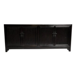 Chinese Sideboard With Bamboo Form Design