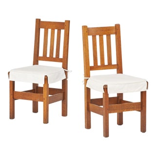 1912 Stickley Brothers Side Chairs - a Pair