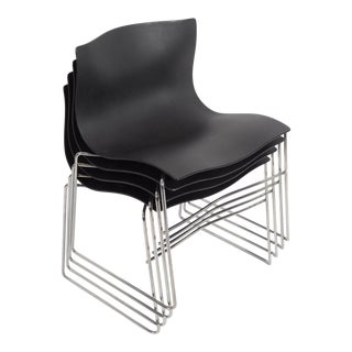 Vignelli for Knoll Handkerchief Chairs - Set of 4 For Sale