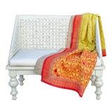 Image of Malai Bengal Kantha Throw For Sale