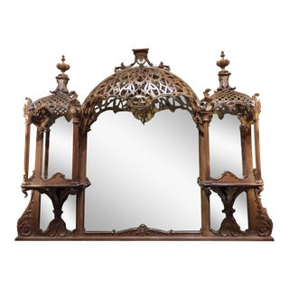 English Regency 19th Century Brighton Pavilion Mirror For Sale