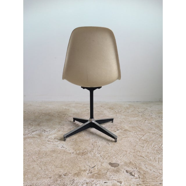 Eames Vintage Plastic Shell Chair For Sale - Image 5 of 6