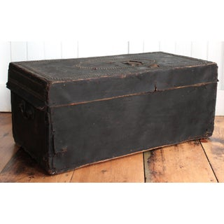 19th Century Leather-Covered Coaching Trunk Preview