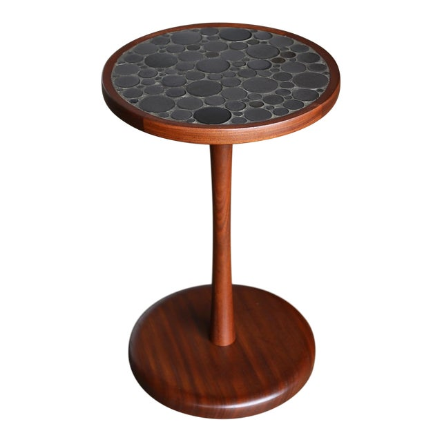 Ceramic Tile Top Occasional Table by Gordon Martz For Sale