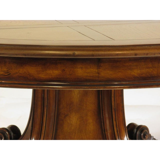 1990s Louis XVI Karges Grand Center Table For Sale - Image 5 of 11