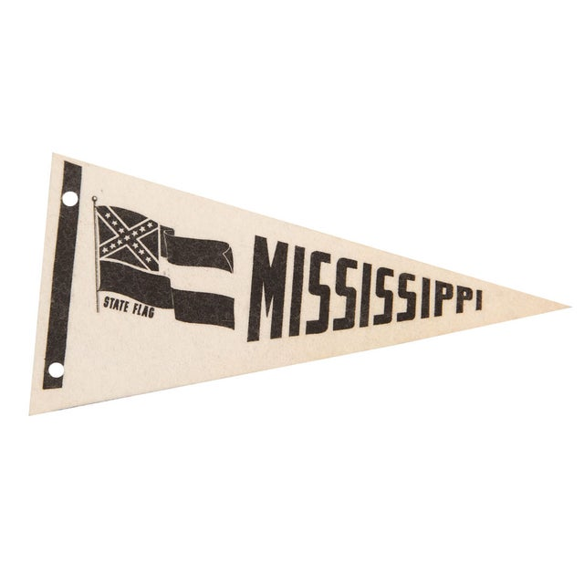 Mississippi State Felt Flag - Image 1 of 3