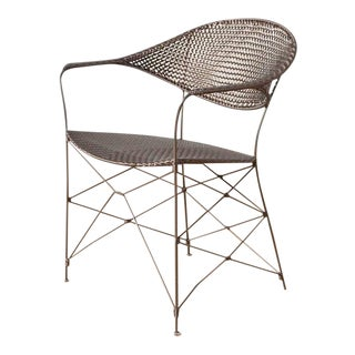 Contemporary Whisk Janusfiber Armchair For Sale