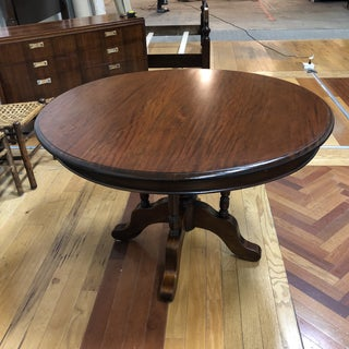 Vintage Round Pedestal Table Preview