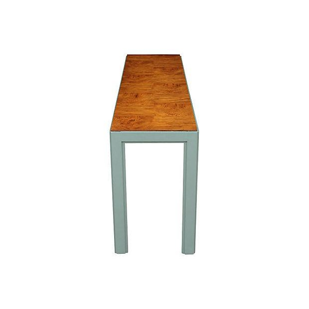 Contemporary Drexel Modern Console Table For Sale - Image 3 of 5