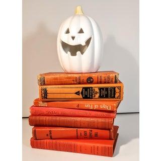 Vintage Orange Books - Set of 7 Preview
