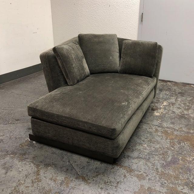 Minotti Seymour Single Corner Chaise - Image 3 of 10