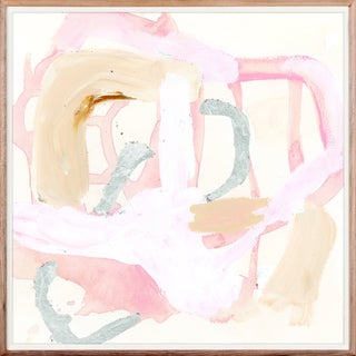 Camlo 1: Blush Art Print - Framed