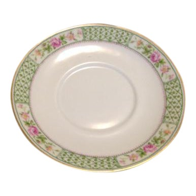 Vintage C. Ahrenfeldt Limoges France Depose Saucer - Image 1 of 6