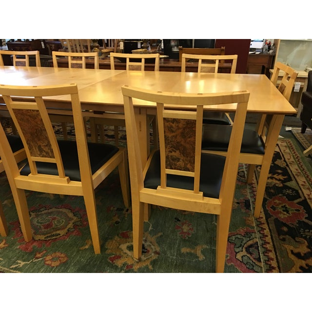 Robert Stangler Argus Dining Table & McCormick Chairs - Set of 11 - Image 10 of 11
