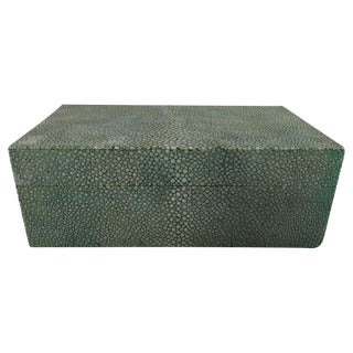 Art Deco Dunhill Shagreen Table Box