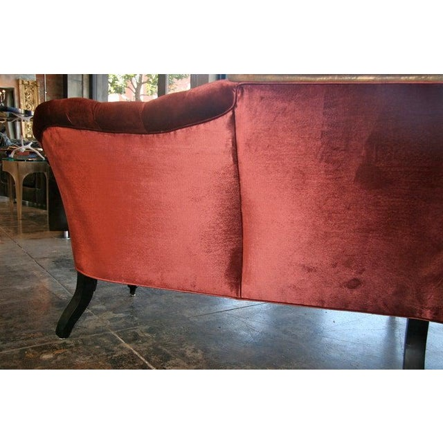 Peachy 19Th C Tufted Sofa With Gold Leaf Iron Planter Machost Co Dining Chair Design Ideas Machostcouk