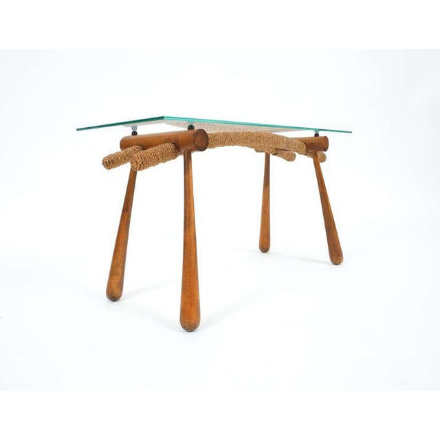 Iconic Modernist Coffee or Side Table by Max Kment, 1955 For Sale - Image 5 of 10