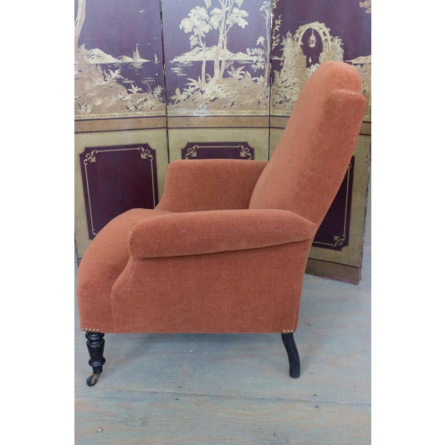 French 1920s Napoleon III Armchair For Sale - Image 3 of 11